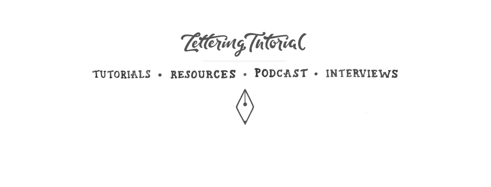 Hand Lettering Tutorial - Learn Lettering